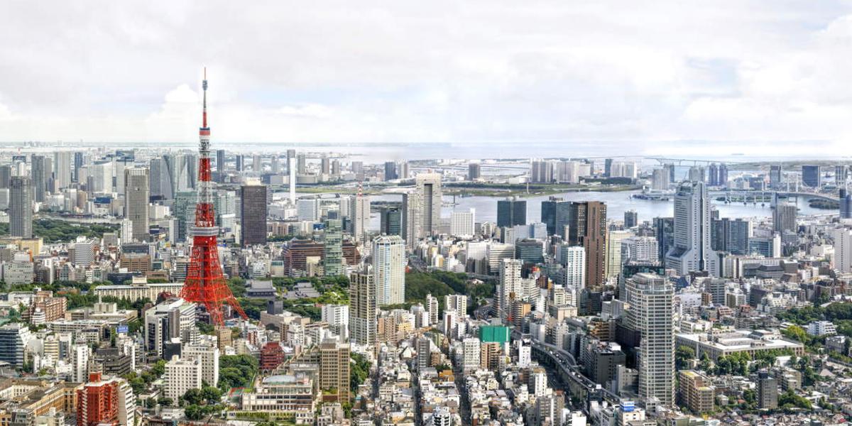 Tokyo Tower Gigapixel Panorama