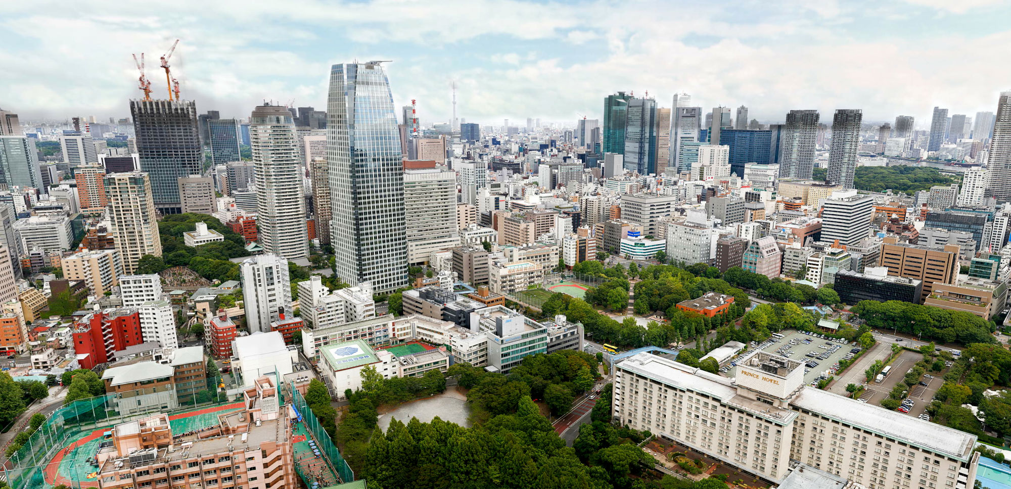 Panoramic views at vista house in tokyo for House 360 view
